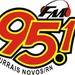 Rádio 95 FM Currais Novos Logo