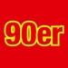 104.6 RTL - 90er Logo