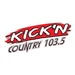 Kickin' 103.5 - WEBS Logo
