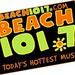 Beach 101.7 -  WBEA Logo