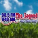 98.5 The Legend - WCIT Logo