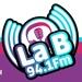La B 94.1 fm Logo