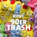 RPR1. - 90er Trash Logo