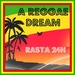 A REGGAE DREAM - Rasta 24H Logo