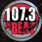 107.3 The Beat - WRGV Logo
