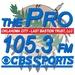 105.3 The Pro - KINB Logo