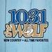 103.1 The Wolf - WOTW Logo