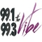 99.1 & 99.3 The Vibe - WFZX Logo