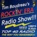 Tim Boudreau's Rockin' Era Radio Logo