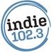 Indie 102.3 - KXRE Logo