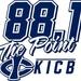 88.1 The Point - KICB Logo