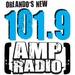 101.9 AMP Radio - WQMP Logo