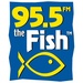 95.5 The Fish - WFHM-FM Logo