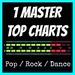 1 MASTER TOP CHARTS Logo
