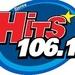 Hits 106.1 FM - XHRYS Logo