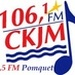 106.1 FM CKJM - CKJM-FM Logo