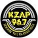 KZAP 96.7 - KZAP Logo