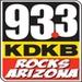93.3 KDKB - KDKB Logo