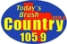 Today's Brush Country - KUKA-FM Logo
