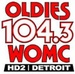 Oldies 104.3 HD-2 - WOMC-HD2 Logo