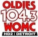 Oldies 104.3 - WOMC-HD2 Logo