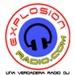 Explosion Radio 100.7 Logo