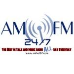 AMFM247 Broadcasting Network Logo