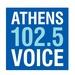 Athens Voice Radio 102.5 Logo