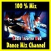 100% Mix - RIW DANCE MIX CHANNEL Logo