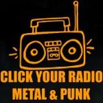 Click Your Radio - CYR Metal & Punk Logo