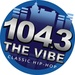 104.3 The Vibe - WXKC-HD2 Logo