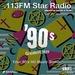 113FM Radio - Hits 1990 Logo