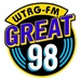The Great 98 FM - WTRG Logo
