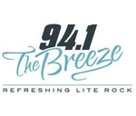 94.1 The Breeze - KTSO Logo