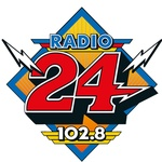 Radio 24 102.8 Logo