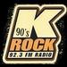 92.3 K-Rock 90's Logo