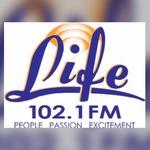 Life 102.1 - WEVI Logo