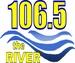 106.5 FM The Rive - WZNJ Logo