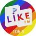 Like FM 105.9 - DWLA Logo