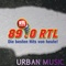 89.0 RTL - Urban Music Logo