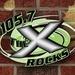 105.7 The X - WQXA-FM Logo