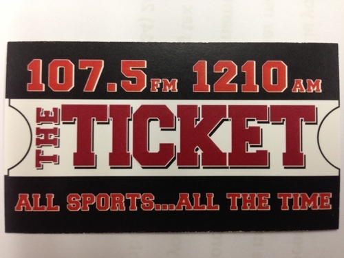ESPN 107.5 The Ticket - WTXK