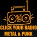 Click Your Radio - CYR Metal & Punk Logo
