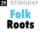 Stingray Music - Folk Roots Logo