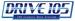 Drive 105 - KZKS Logo