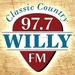 Willy 97.7 - K249ET-FM Logo