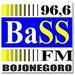 Radio Bass FM 96.6 Logo