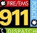 Livingston County Fire Dispatch Logo