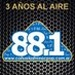 FM NacPop 88.1 Logo