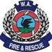 Perth, WA, Australia Fire/Rescue Logo